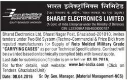 Bharat Electronics Limited Tender Advertisement