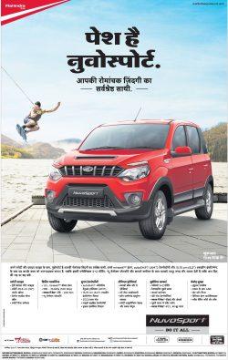 Mahindra Nuvosport Advertisement