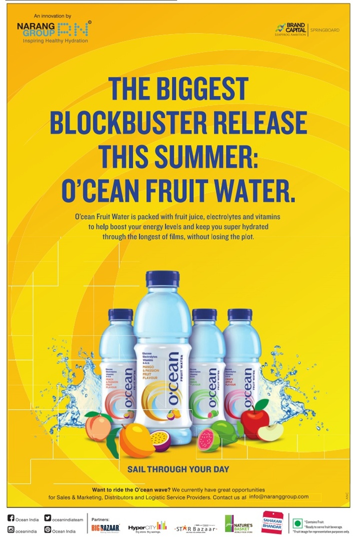 Ocean Fruit Water Advertisement