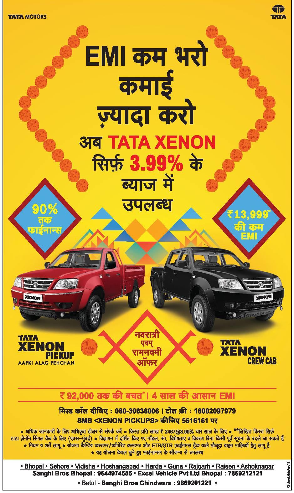 Tata Motors Xenon Advertisement