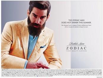 Zodaic Positano Linen Advertisement