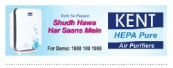 Kent Air Purifiers Advertisement