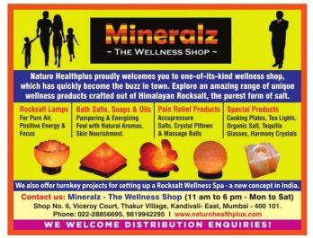 Mineralz The Wellness Shop Advertisement in TOI Mumbai