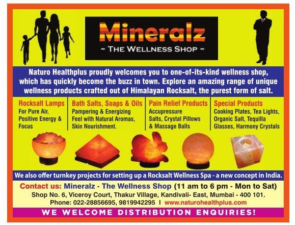 Mineralz The Wellness Shop Advertisement