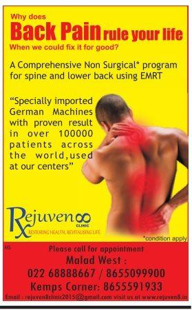 Rejuvenoo Clinic Advertisement
