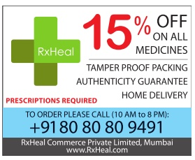 RxHeal Advertisement in TOI Mumbai