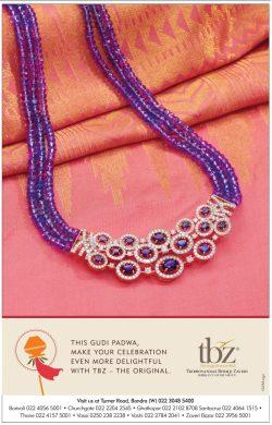 TBZ Shrikant Zaveri Group Advertisement in TOI Mumbai