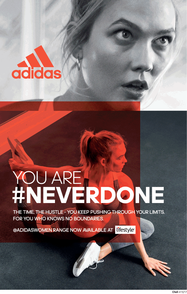 Adidas You Are Never Done Ad - Advert Gallery