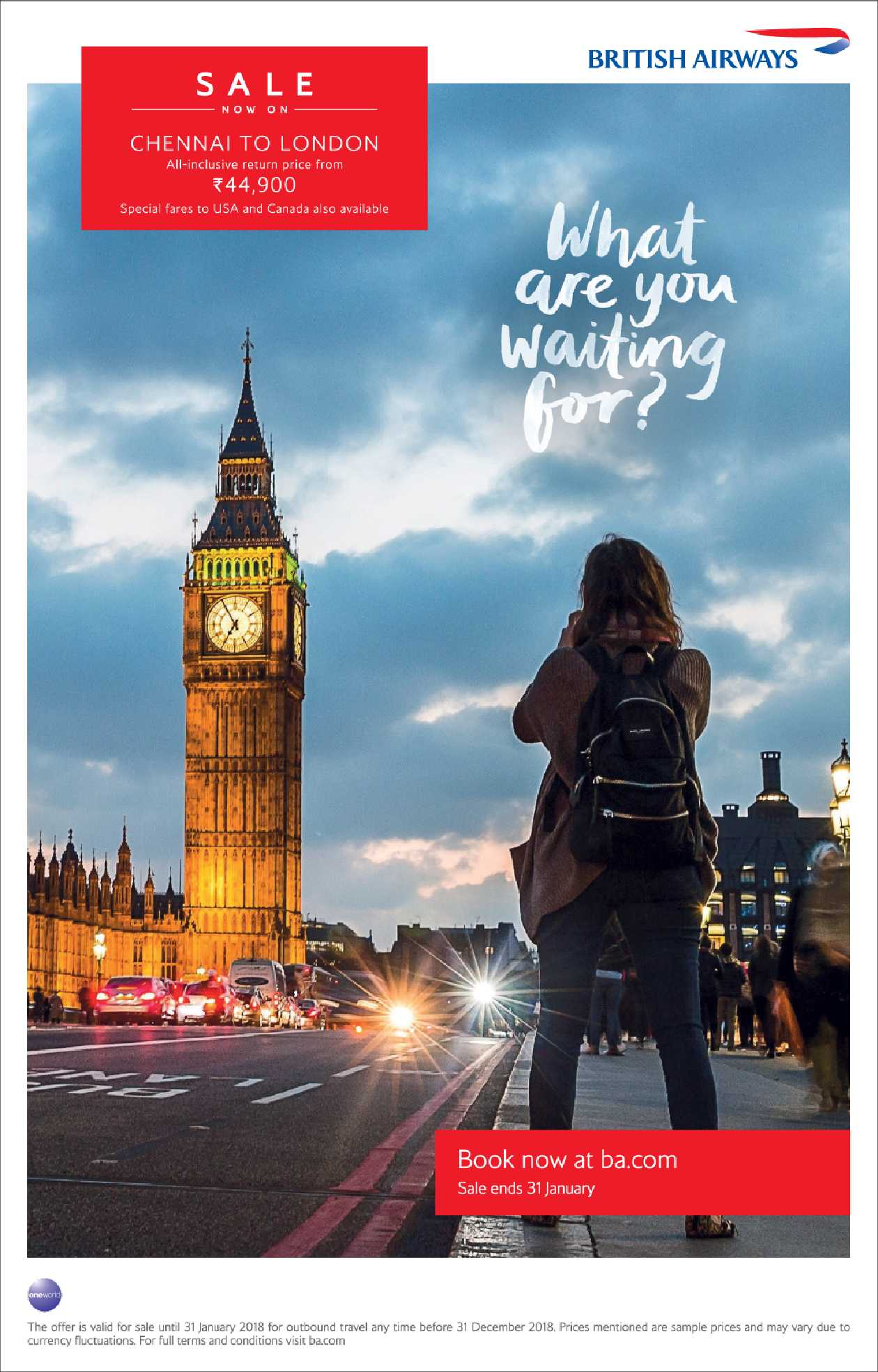 British Airways What Are You Waiting For Ad Advert Gallery