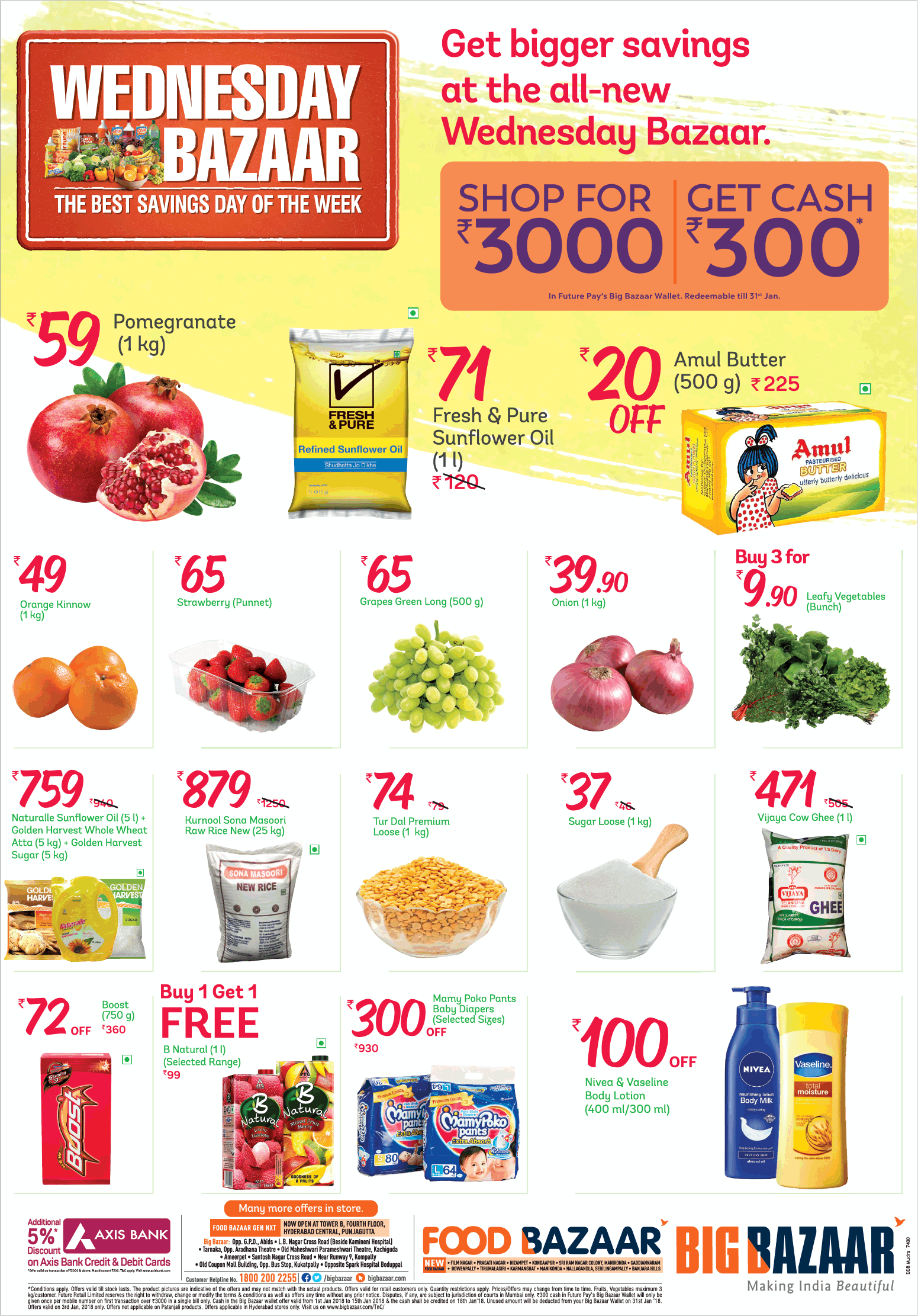 food discounts on wednesdays