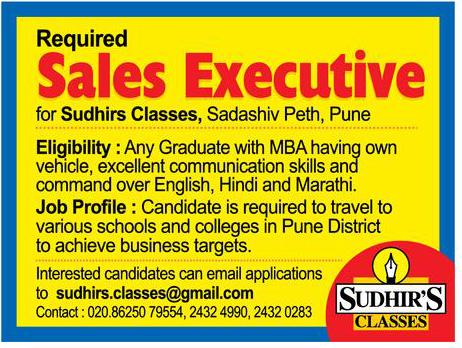 Sudhirs Classes Required Sales Executive Ad  Advert Gallery. Funeral Announcement Template Free. Business Plan Proposal Template. Professional Gift Wrapping Services. Martha Stewart Graduation Centerpieces. Fake Doctor Note Template. Excel Expense Tracker Template. Iowa State University Graduate Programs. Unique Phlebotomy Resume Sample