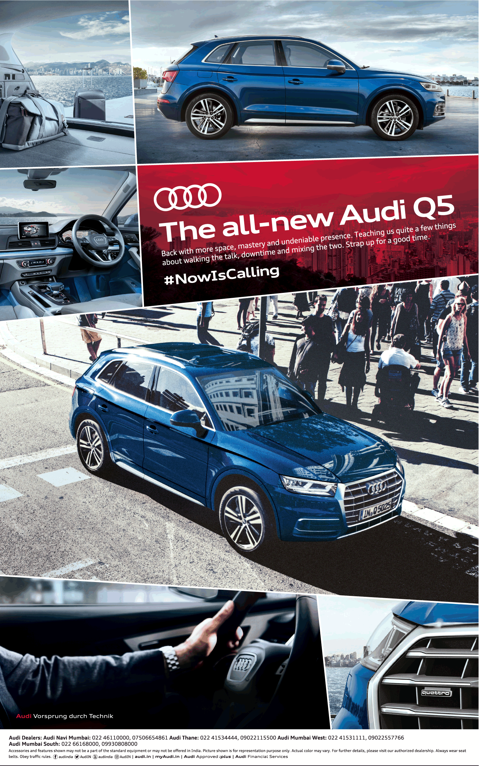 The All New Audi Q5 Now Is Calling Ad Advert Gallery