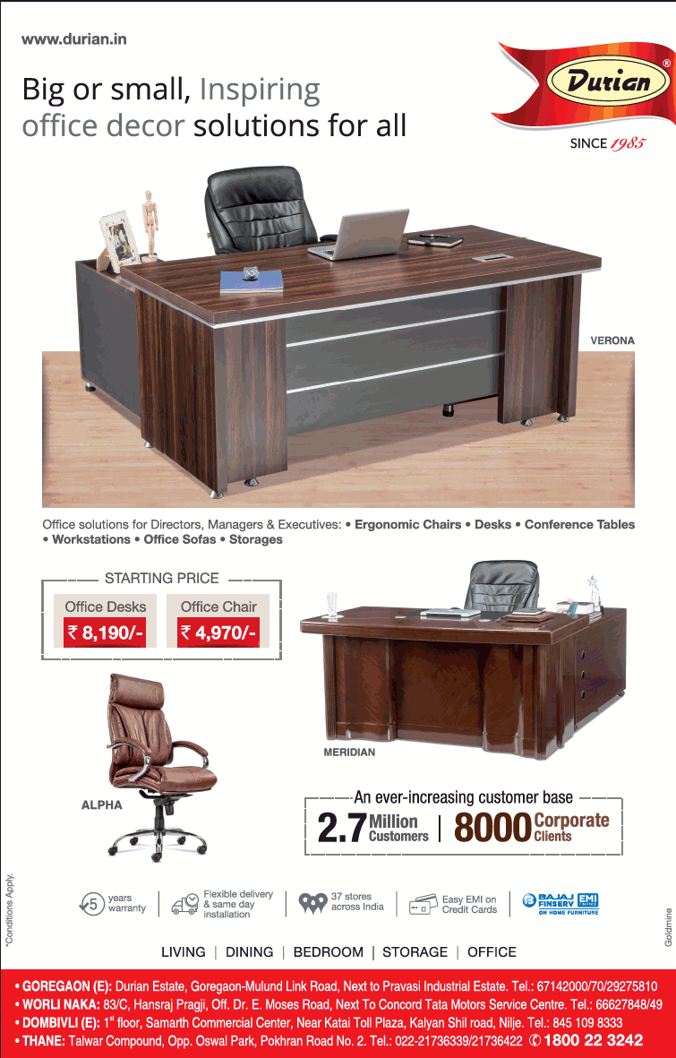 furniture store newspaper ads. Durian Furniture Big Or Small Inspiring Office Decor Solutions For All Ad Store Newspaper Ads E