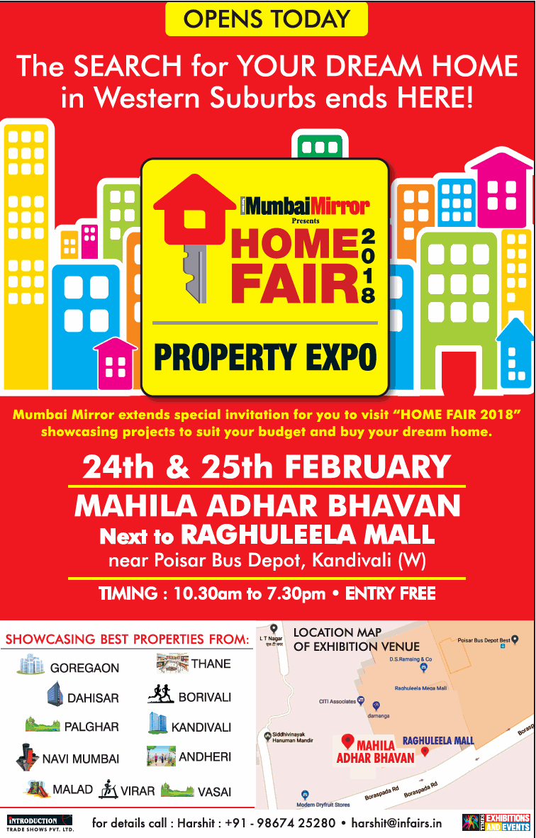 Home Fair 2018 P Expo The Search Of Your Dream Ad Advert Gallery