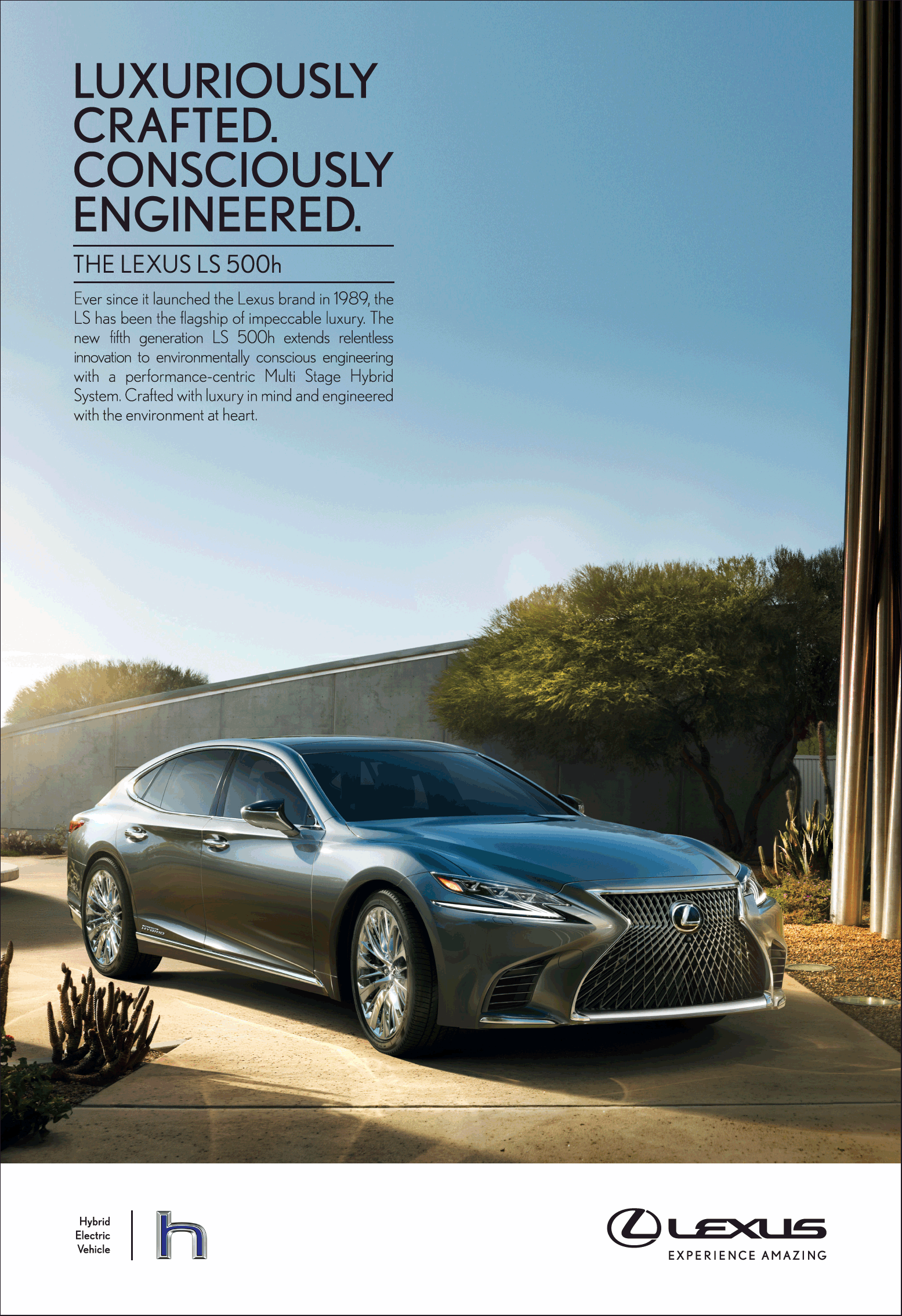 Lexus Car Experience Amazing Luxuriously Crafted Consciously Engineered Ad