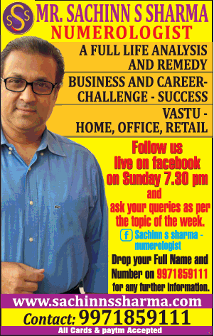 Mr Sachinns Sharma Numerologist A Full Life Analyisis And Remedy Ad