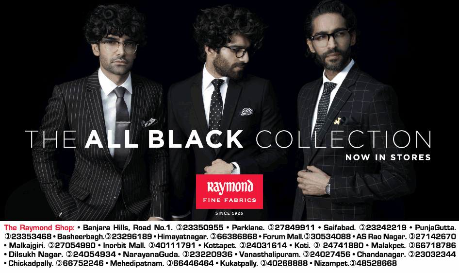 192e11f1129a1 Raymond Fine Fabric The All Black Collection Now In Stores Ad ...