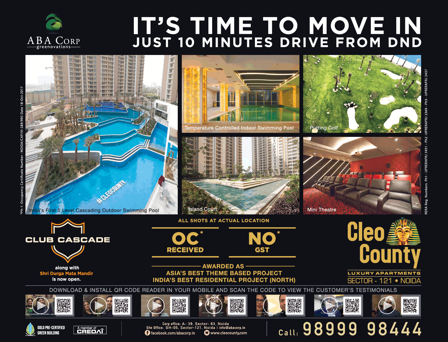 Aba Group Its Time To Move In Just 10 Minutes Drive From Dnd Ad