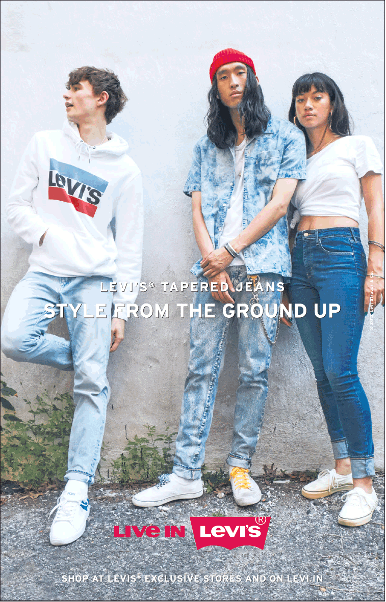 Live In Levis Levis Tapered Jeans Style From The Ground Up ...