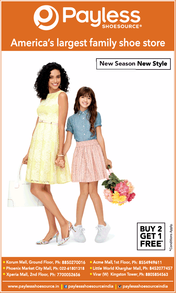 Payless Shoesource Americas Largest Family Shoe Store Ad