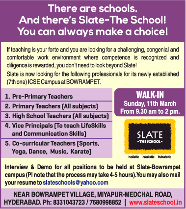 Slate The School There Are Schools You Can Always Make A Choice Walk In Ad