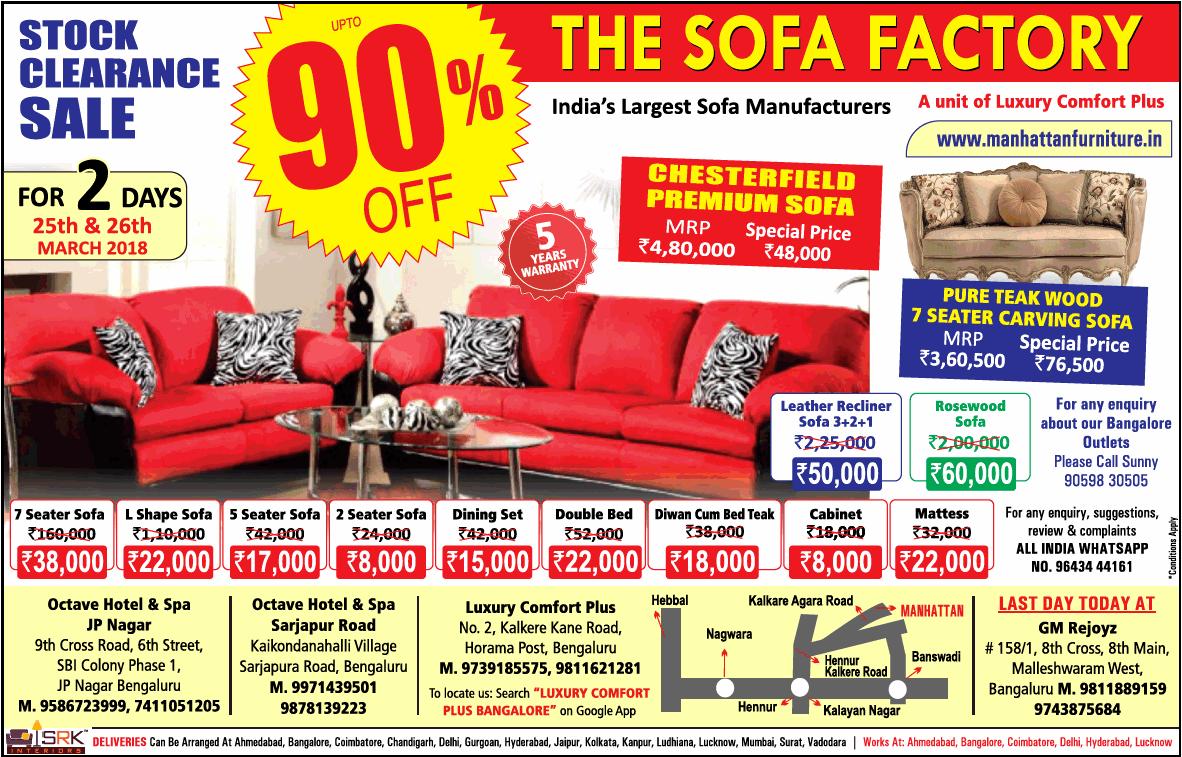 Merveilleux The Sofa Factory ...