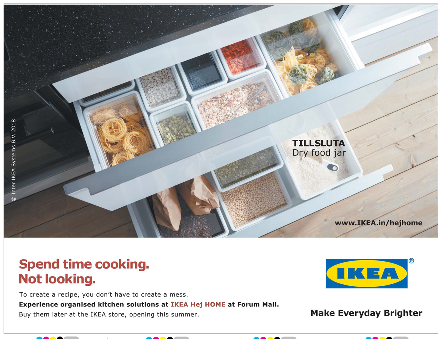 Ikea Make Everyday Brighter Spend Time Cooking Not Looking Ad