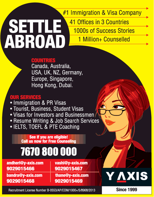 Y Axis Settle Abroad See If You Are Eligible Call Us Now For Free