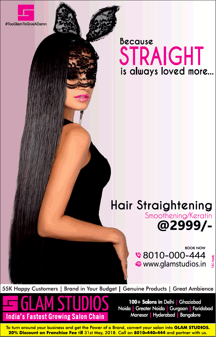 Glam Studios Indias Fastest Growing Salon Chain Ad