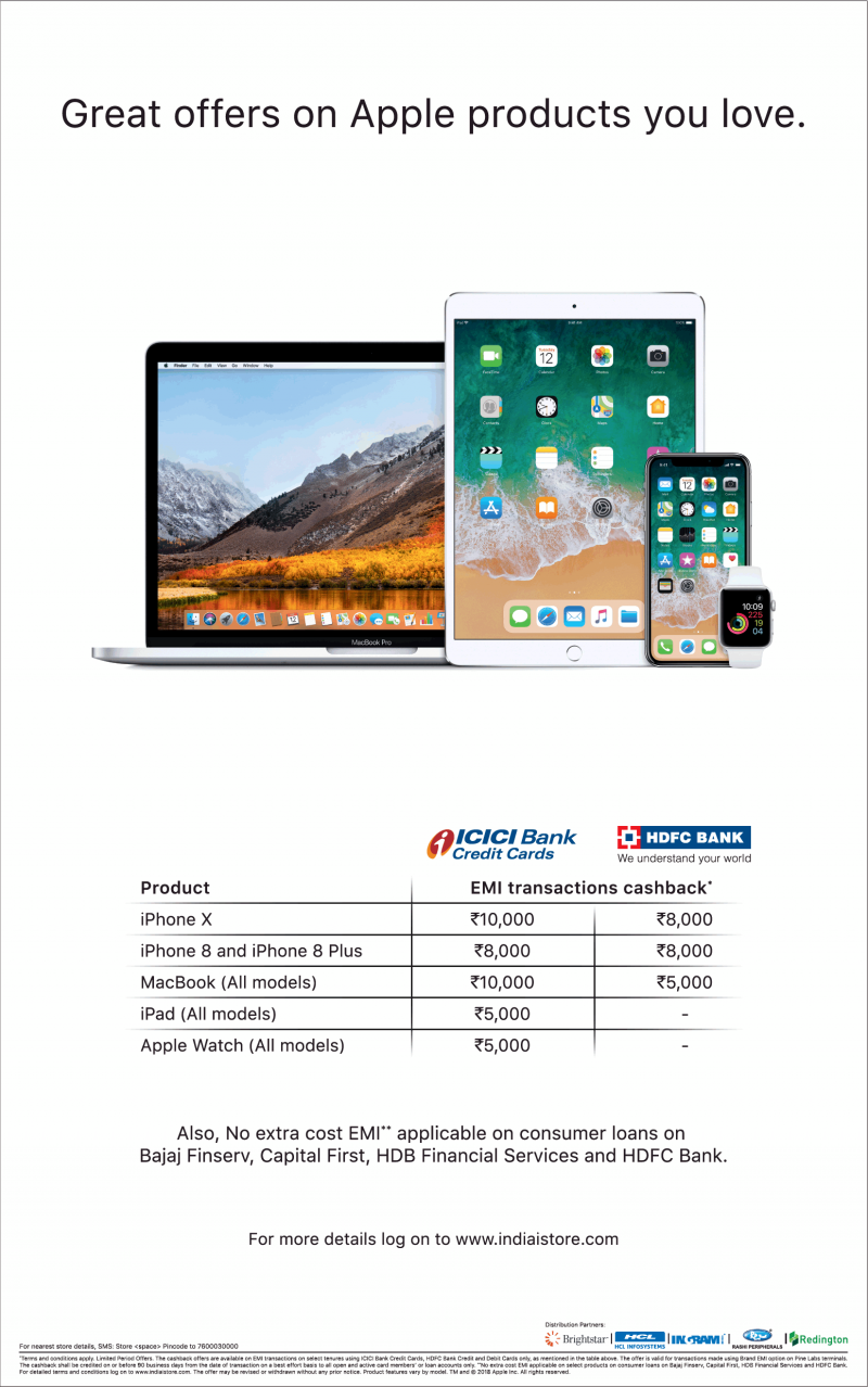 Great Offers On Apple Products You Love Ad