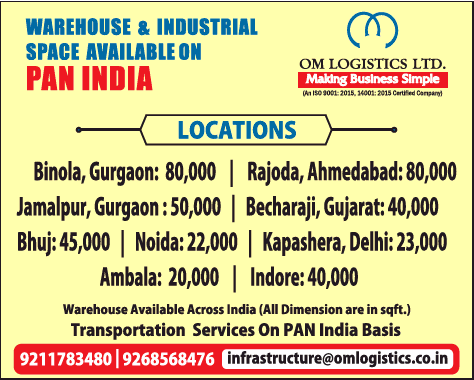 Om Logistics Ltd Warehouse And Industrial Space Available On Pan