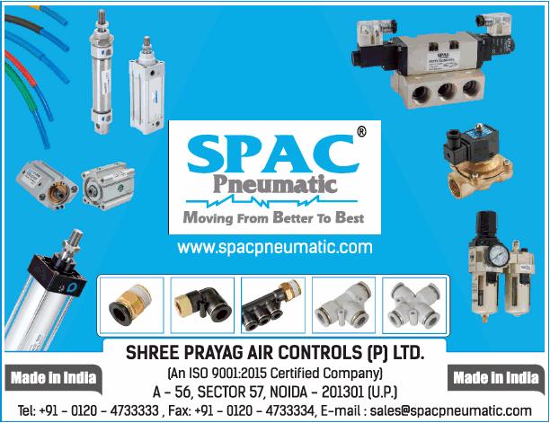 Shree Prayag Air Controls P Ltd Spac Pneumatic Ad
