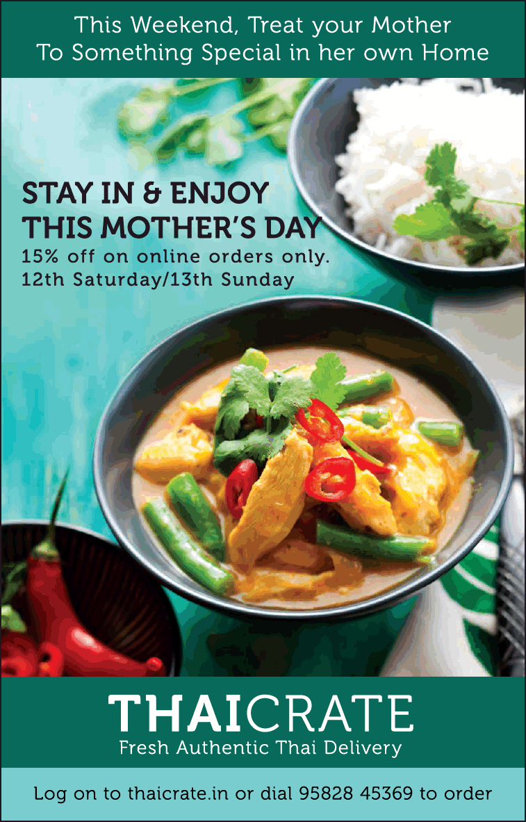 Thaicrate Fresh Authentic Thai Delivery Ad