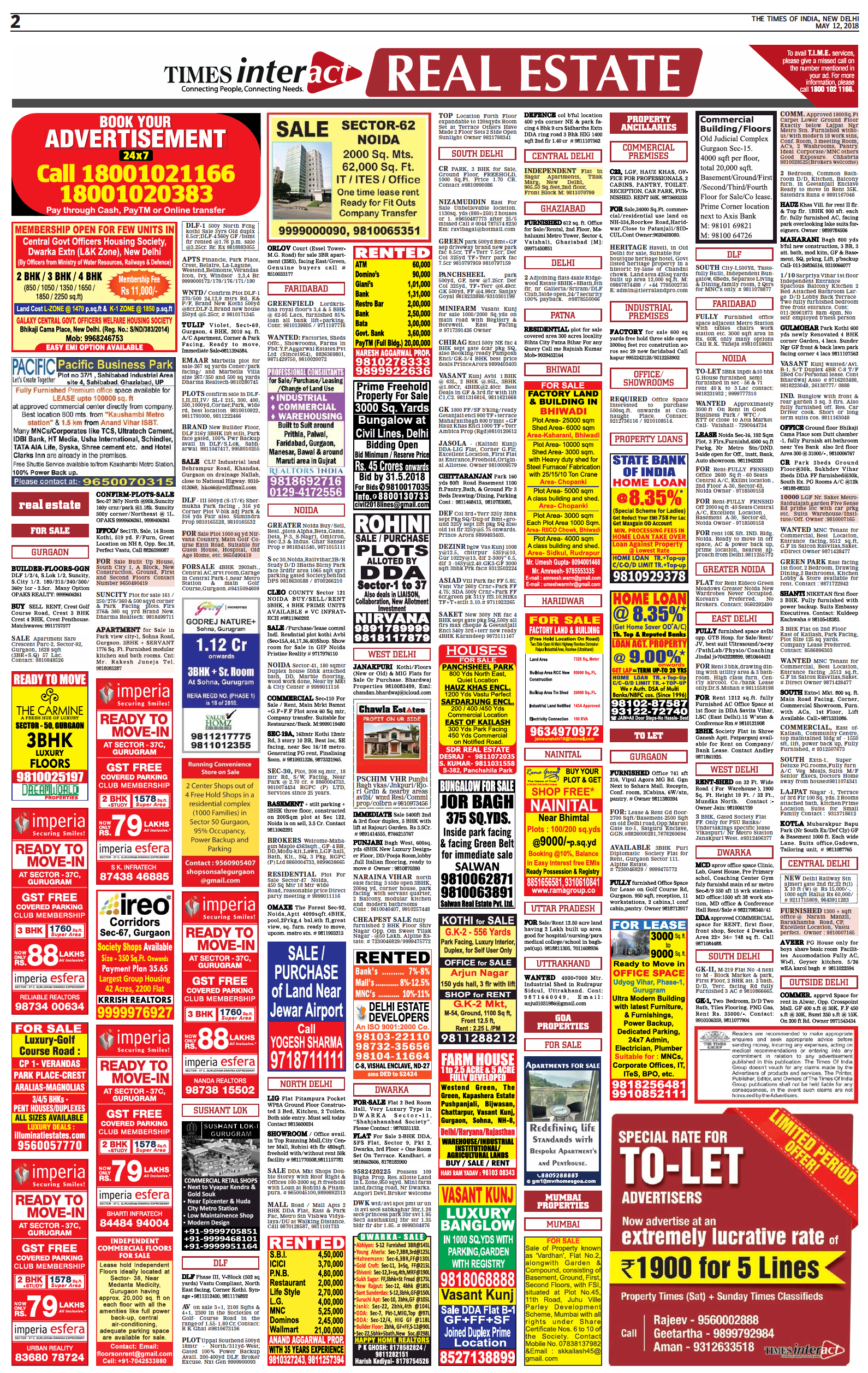 Times Interact Real Estate Ad