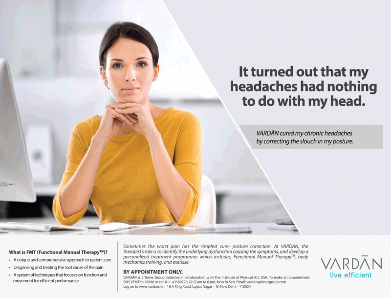 Vardan Live Efficient It Turned Out That My Headaches Had Nothing To Do With My Head Ad