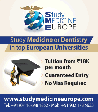 Study Medicine Europe Tuition From 18K Per Month Ad