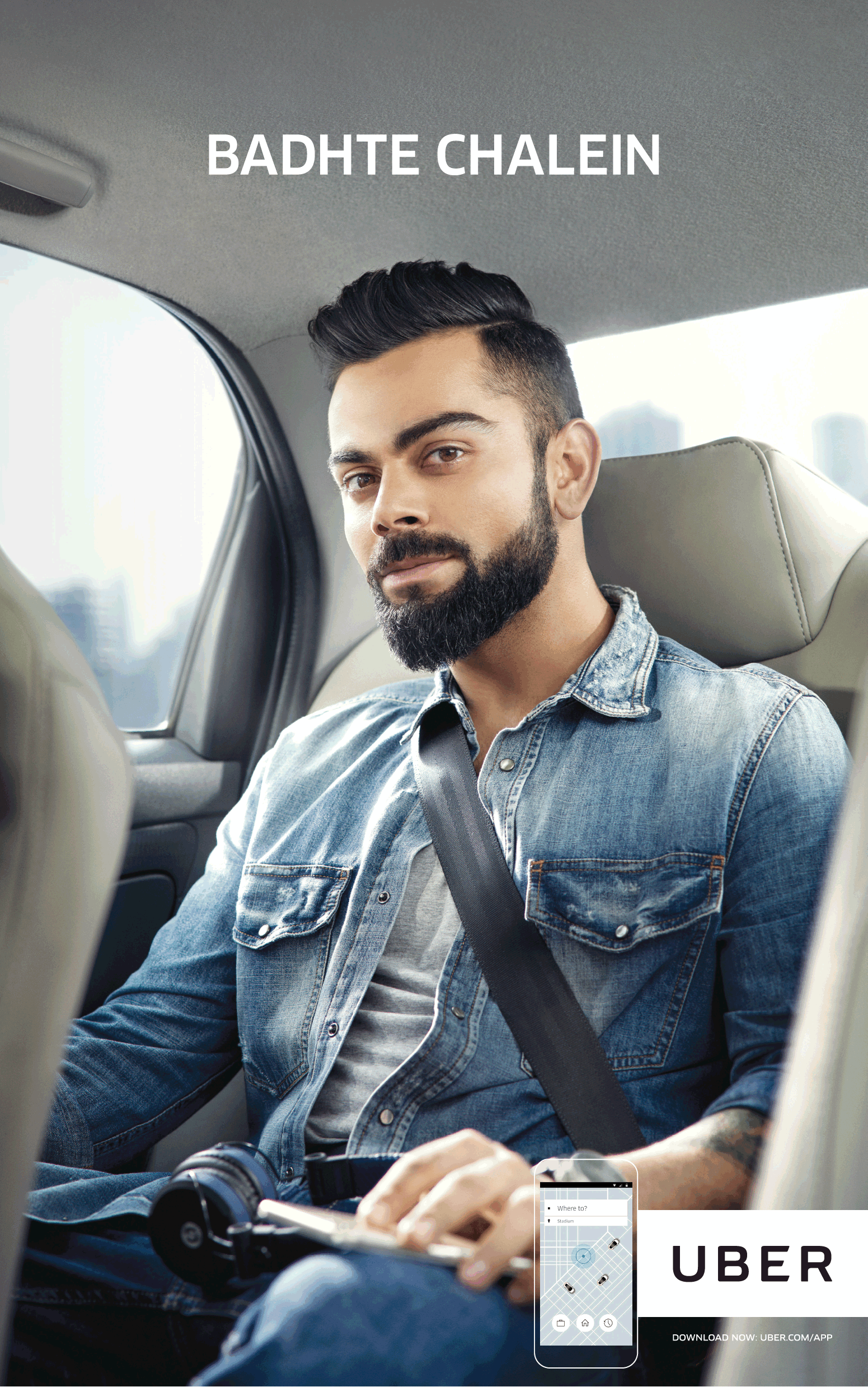 Uber Cabs Badhte Chalein Ad