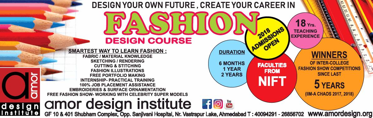 Amor Design Institute Fashion Design Course Ad Advert Gallery