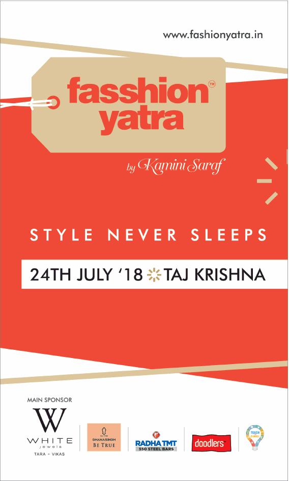 Fashion Yatra Style Never Sleeps Ad