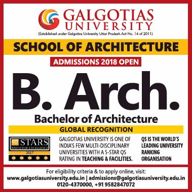 Galgotias University School Of Architecture Ad