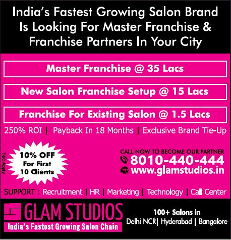 Glam Studios Indias Fastest Growing Salon Chain Ad