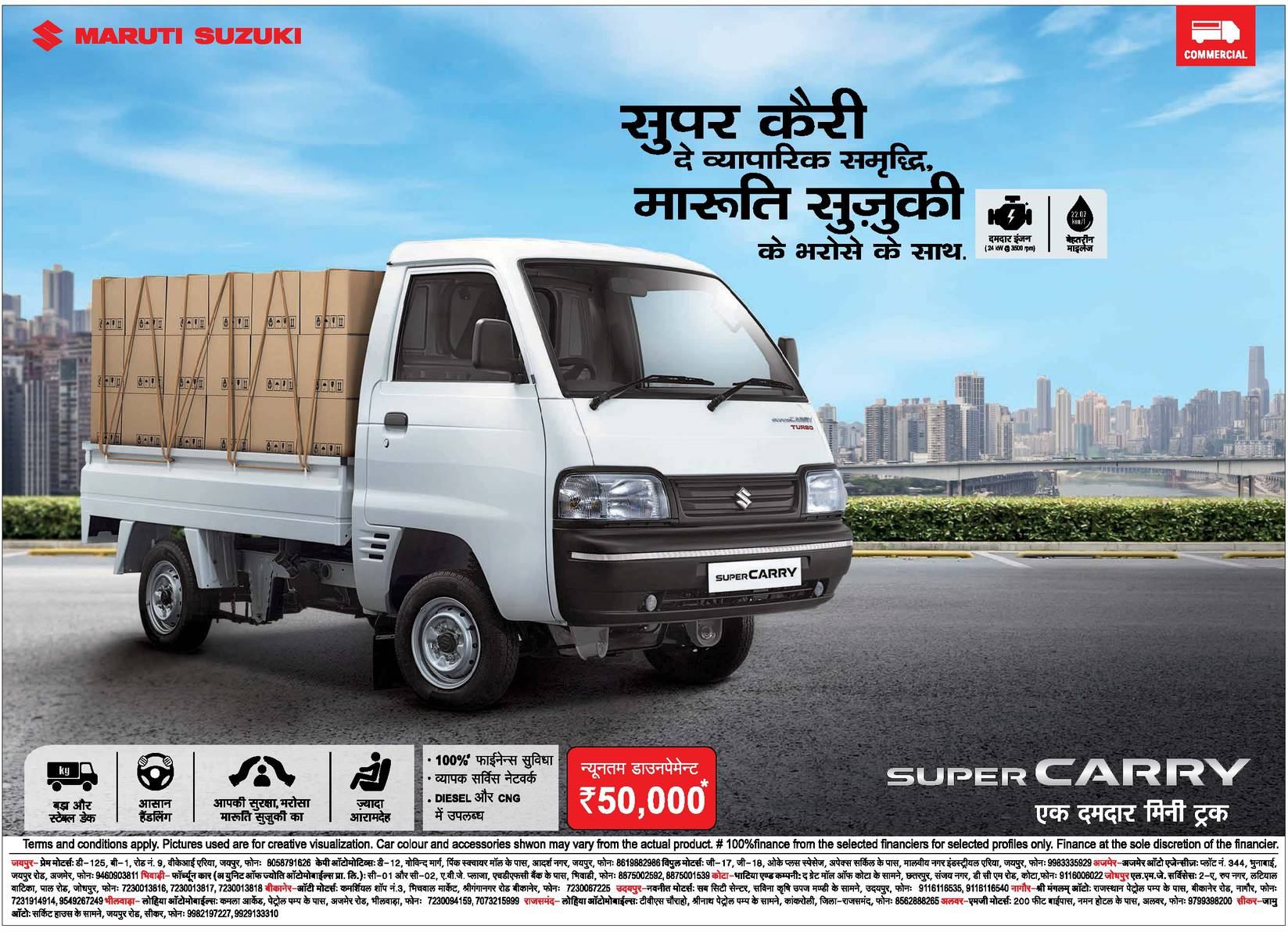 Maruti Suzuki Super Carry Ad Advert Gallery