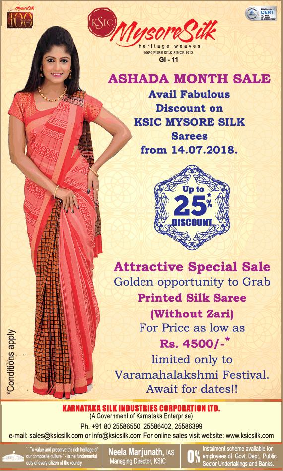 Ksic mysore silk saree sale in bangalore dating