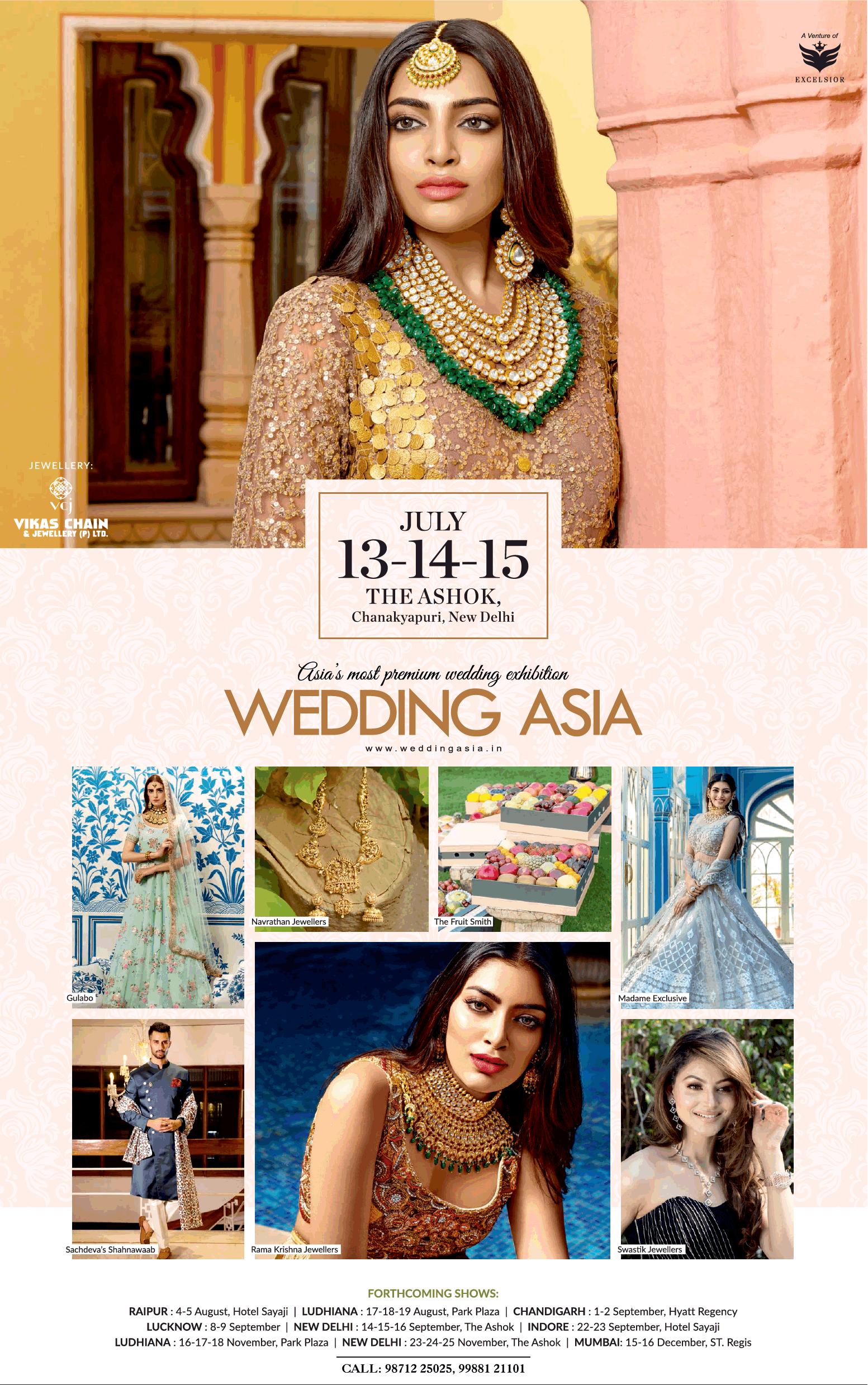 Wedding Asia Wedding Exhibition Ad