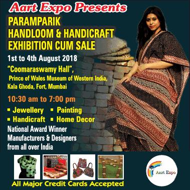 Aart Expo Presents Paramparik Handloom And Handicraft Exhibition Ad