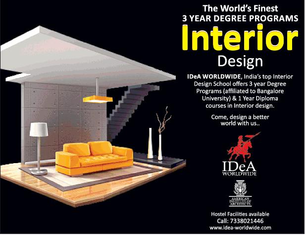 Interior design the worlds finest 3 year degree programs - Interior design degree online program ...