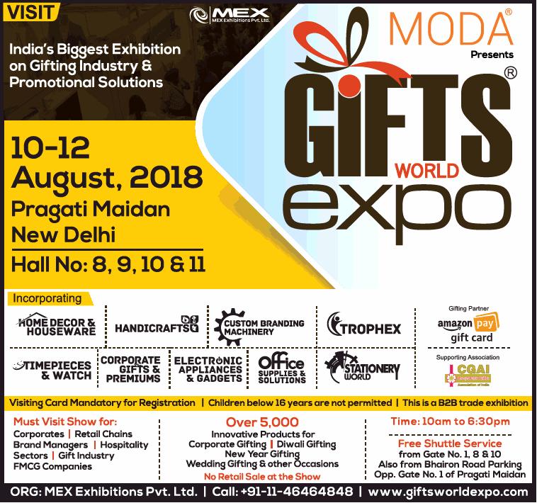 Moda Presents Gifts World Expo Ad