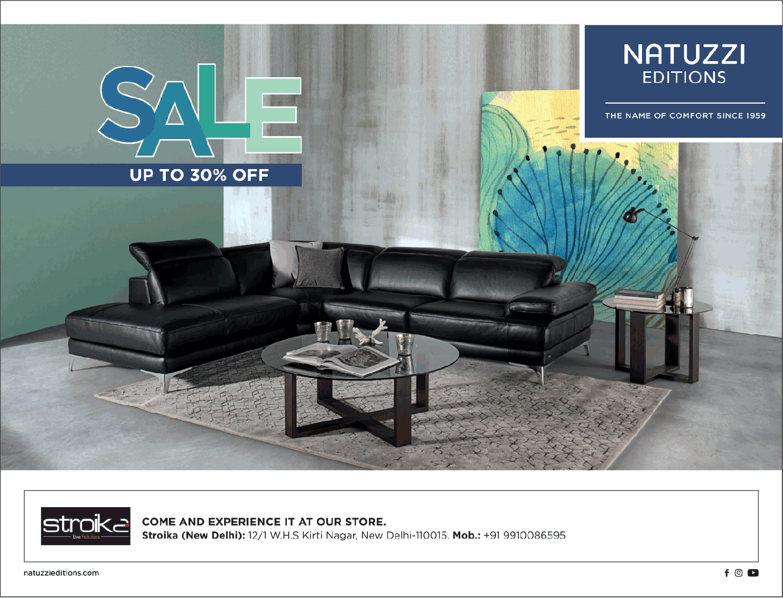 Design Bank Natuzzi.Natuzzi Editions Sale Upto 30 Off Ad Advert Gallery