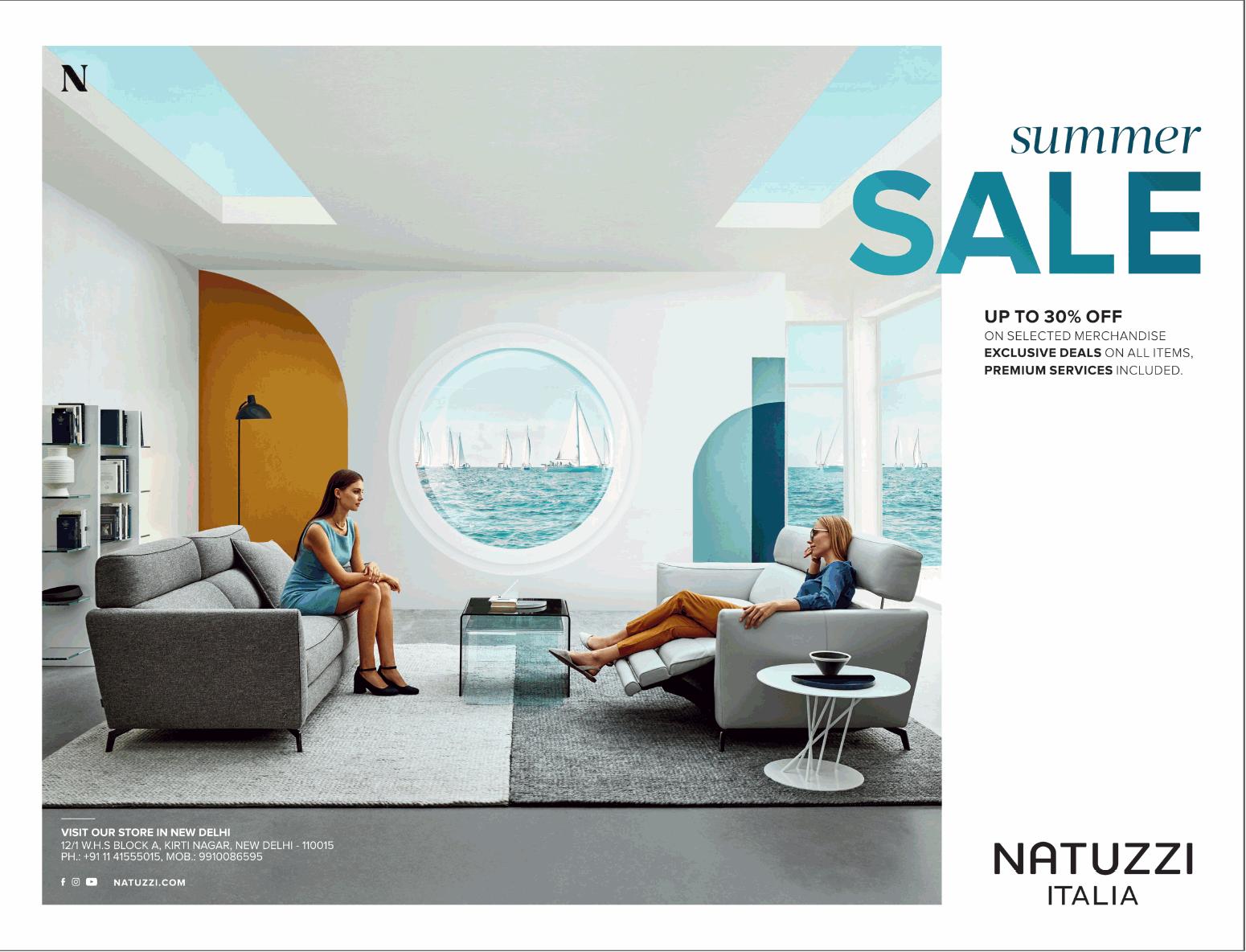 Natuzzi Design Bank.Natuzzi Italia Summer Sale Ad Advert Gallery