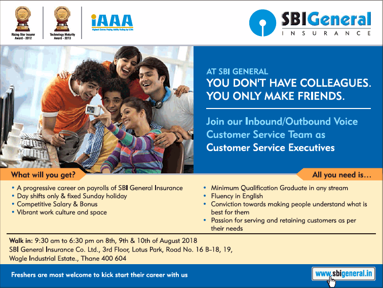 Sbi General Insurance Requires Ad